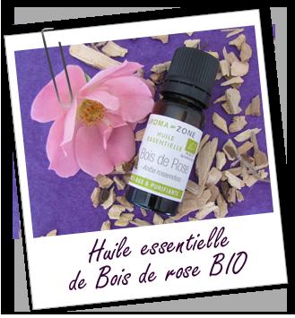 H.E de bois de rose bio