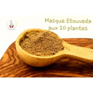 Masque capillaire aux plantes ayurvédiques