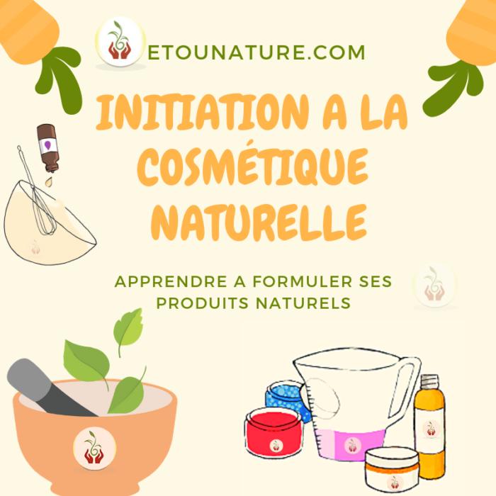 Atelier Initiation à la cosmétique naturelle