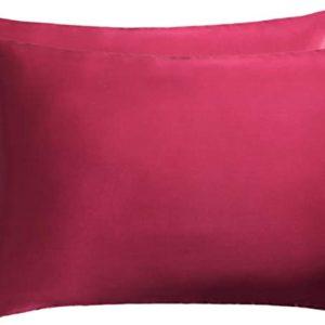La taie d'oreiller en soie